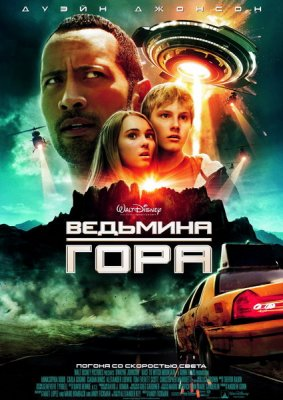 Ведьмина гора / Race to Witch Mountain (2009) Scr + Онлайн